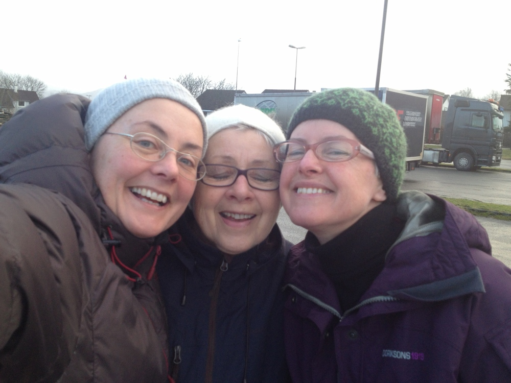 me, mother, my sister Anne