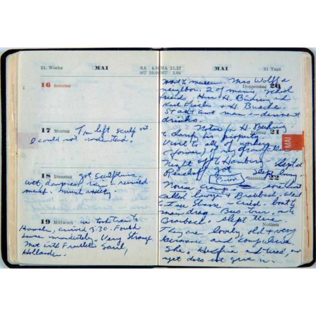 eva hesse diary