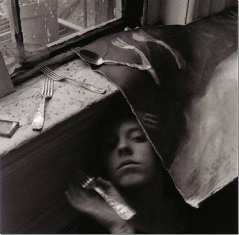 Francesca Woodman, On Being an Angel, 1977