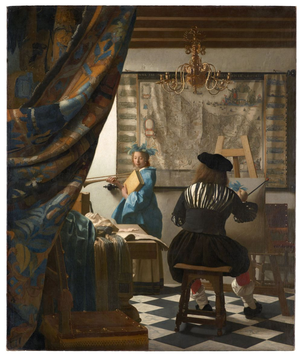 Vermeer_-Art of painting