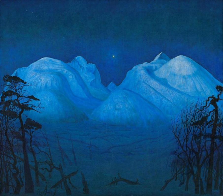 Harald Sohlberg Vinternatt