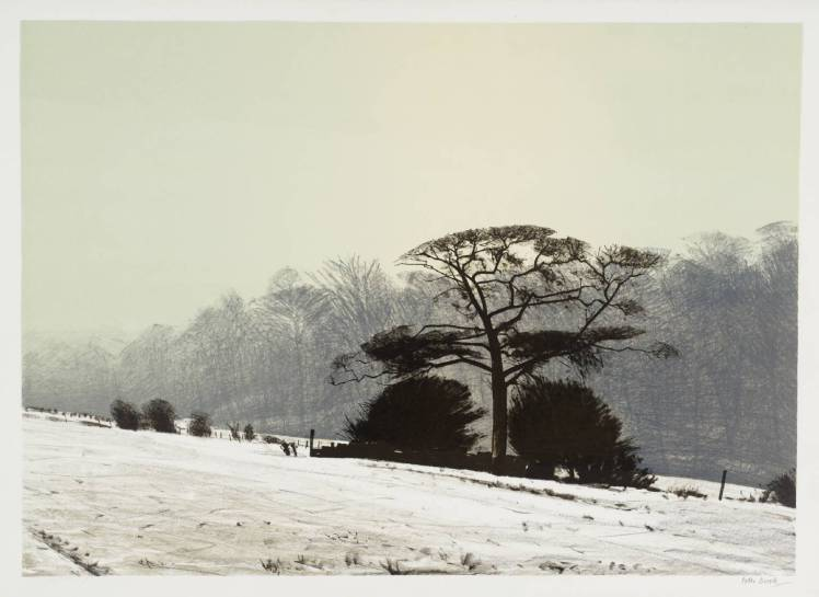 Misty Morning 1975 by Peter Brook 1927-2009