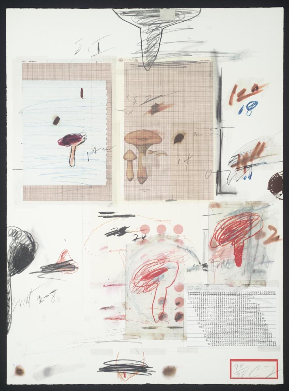 No. IV 1974 by Cy Twombly 1928-2011