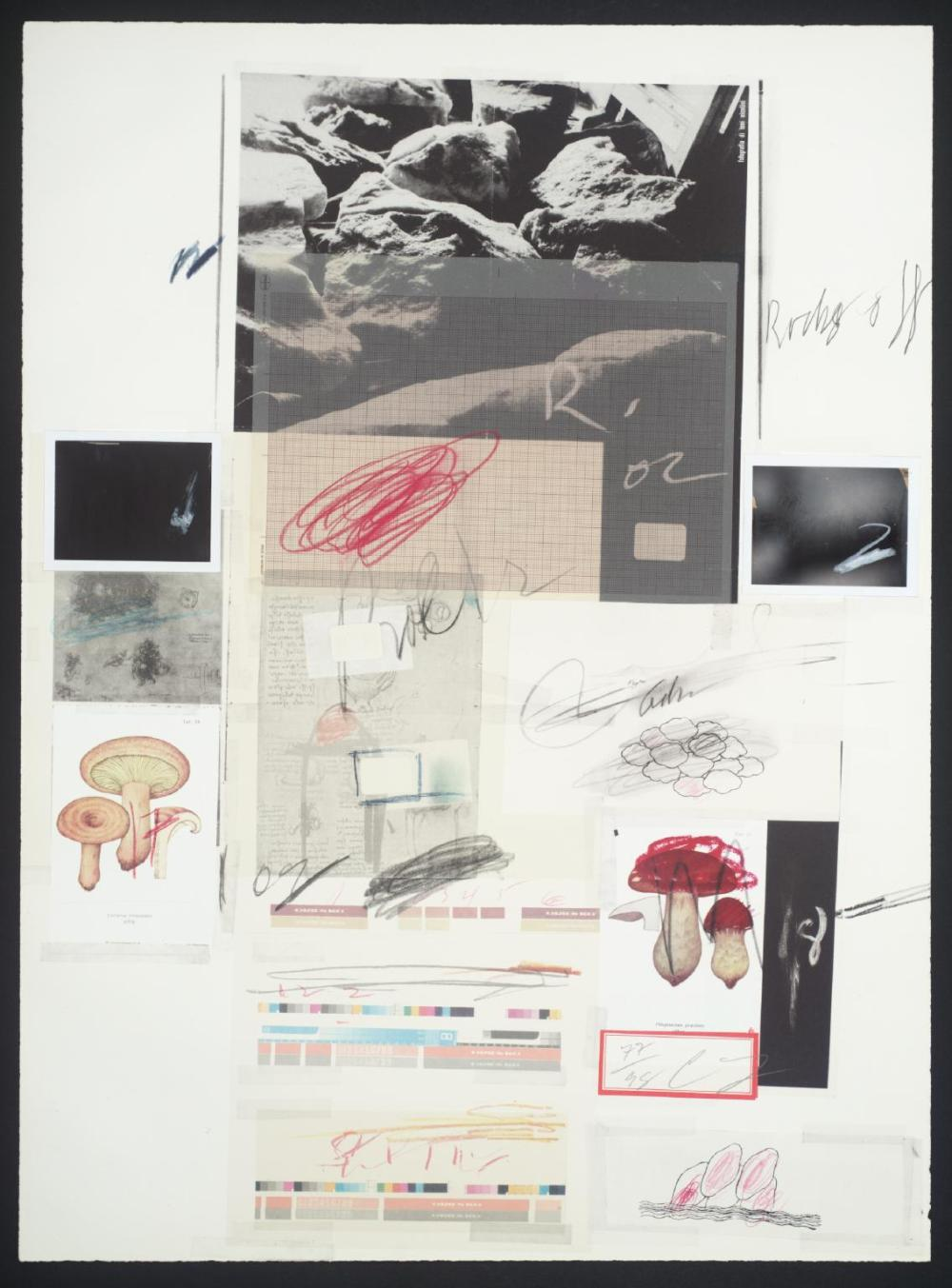 No. X 1974 by Cy Twombly 1928-2011